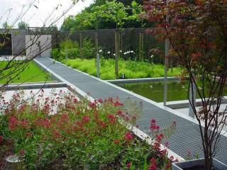 Sierbestrating lang leve de tuin for Tuinontwerp noord holland